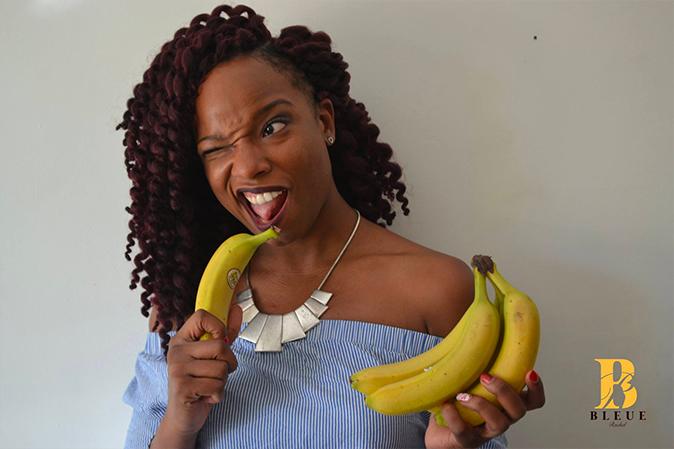 Bleue Rachel - Banane et cosmetiques