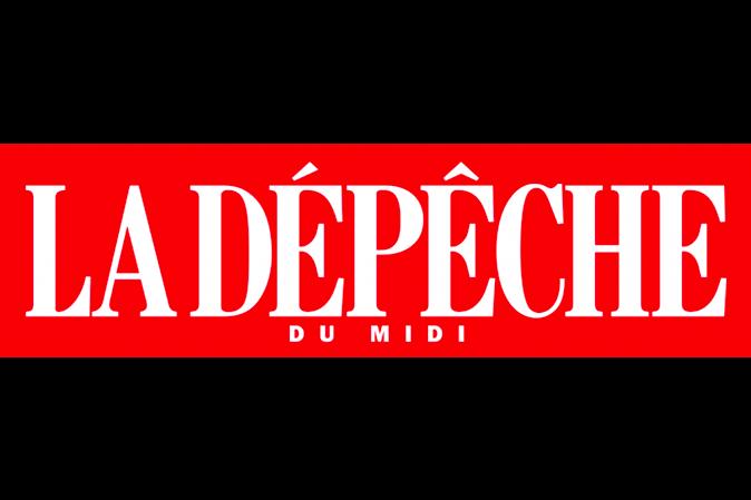 logo la depeche - article presse Bleue Rachel