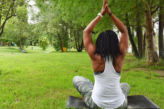 Yoga - Bleue Rachel