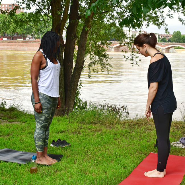 Yoga2 - Bleue Rachel