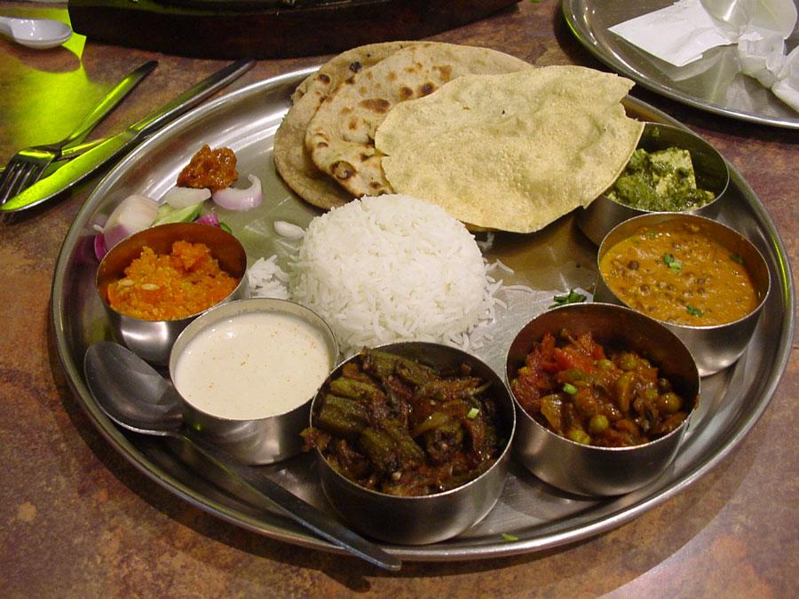 a-thali-plate