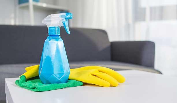 Nettoyage de printemps - Bleue Rachel